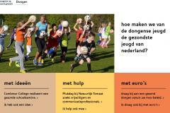 Website JOGG-Dongen geeft impuls aan publiek-private samenwerking