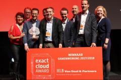 HLB Van Daal & Partners wint Exact prijs voor samenwerking. Trots! Lees hier ons verhaal: www.hlb-goud.nl
