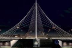 Lichtvormgevers verlicht de Calatravabruggen in Hoofddorp